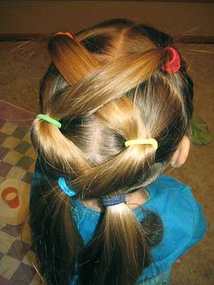 Cool hair awhhh cute for a little girl
