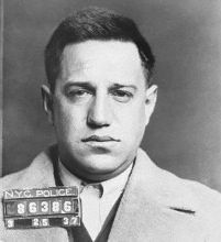 """Seymour """"Blue Jaw"""" Magoon (1908 - ?) was an American hitman in New York's Murder Inc gang, one of many members who were implicated by the testimony of former member and government informant Abe """"Kid Twist"""" Reles. In 2003 his skeleton was found in the desert outside Las Vegas Nevada"""