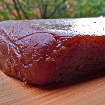 Dulce de membrillo casero, por Patxi Gimeno, cocinero deportivo