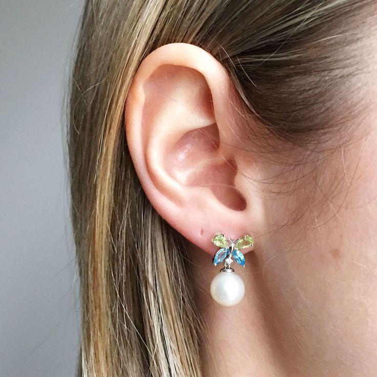 45 best Pearl Earrings images on Pinterest
