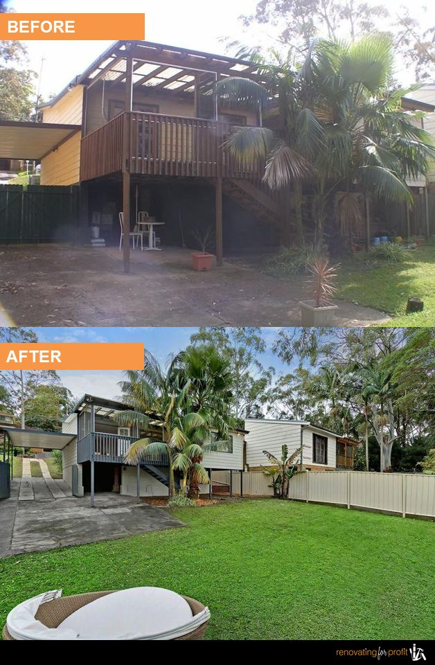 #Landscaping #Backyard #Renovation See more exciting projects at: www.renovatingforprofit.com.au