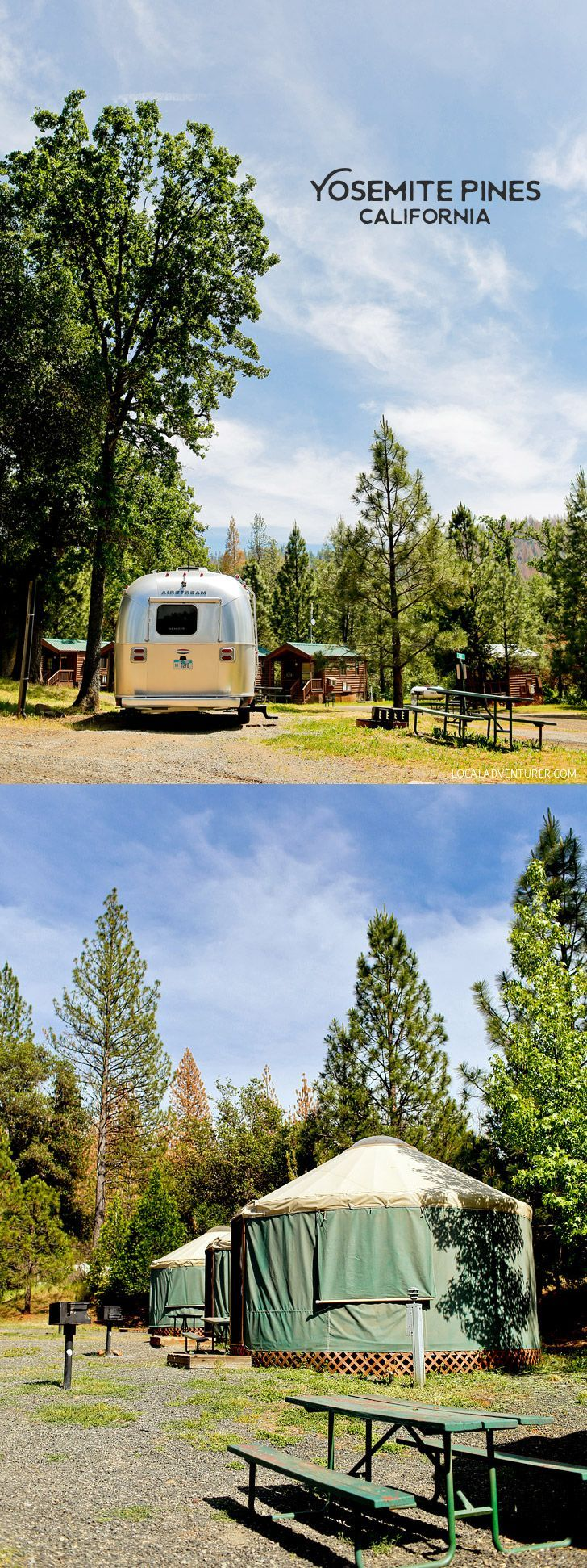 Yosemite Pines RV Resort Family Lodging Near The West Entrance Of National Park
