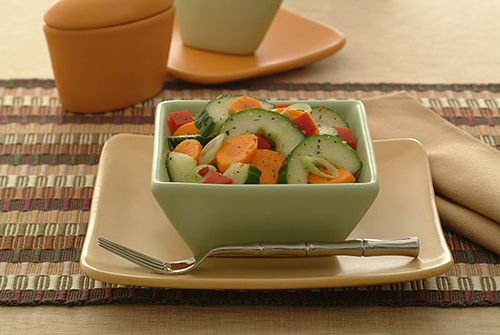 Cucumber-Carrot Salad - Kidney-Friendly Recipes - DaVita