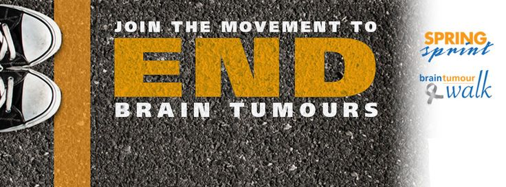 This is a great image to change your facebook cover image to, to show your support for the movement to end brain tumours. Find everything you need to show your support at www.springsprint.ca.