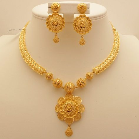 6020d9459 9 Awesome 50 Gram Gold Necklace Designs India