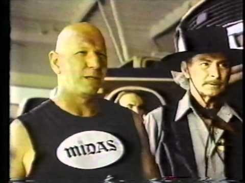 Midas Brakes commercial with Lee Van Cleef, Robert Tessier and Bo Hopkins WTF!