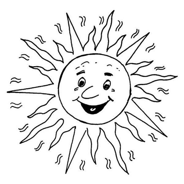 best 25 coloriage soleil ideas on pinterest coloriage t summer sun coloring - Sun Coloring Pages