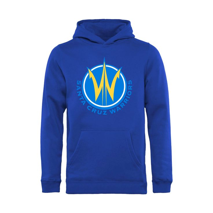 Santa Cruz Warriors Youth Primary Logo Pullover Hoodie - Royal - $44.99