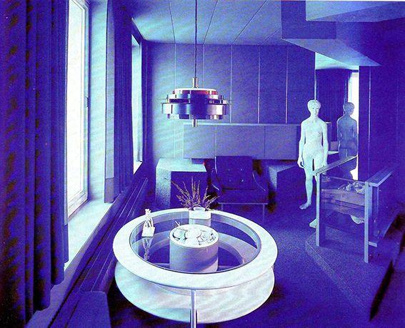 Pieter De Bruyne, Blue Room Aalst, 1972