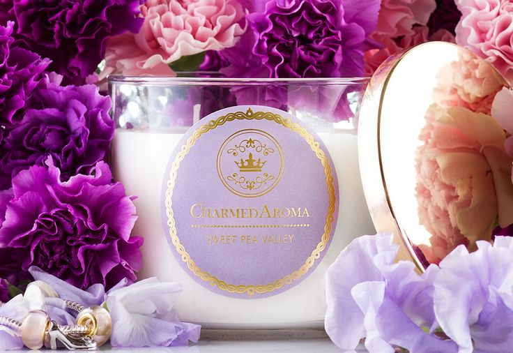 SWEET PEA VALLEY - Every soy candle has $10 to $5000 worth of jewelry – Charmed Aroma