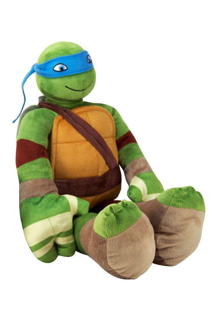 teenage mutant ninja turtles michealangelo practice pal plush teenage mutant ninja turtles pillowtime pal pillow kids rooms decorroom