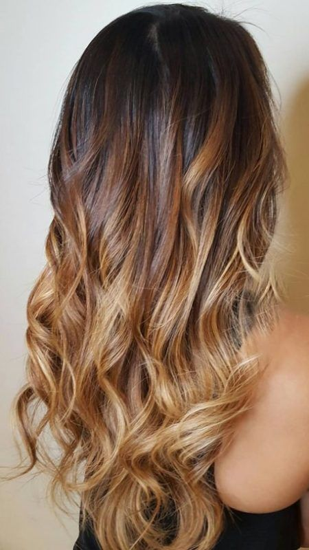 Dark And Light Brown Hair Ideas With Highlights  Best Hair Color Trends 2017