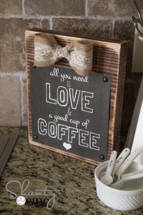 Oh hey guys! I had a ton of requests to post my coffee quote I shared on Instagram last week as a free printable, so… Here it is! Make sure to follow us on Instagram and Pinterest to keep up with all of our DIY projects! Look how cute it turned out! So fun! And {...Read More...}