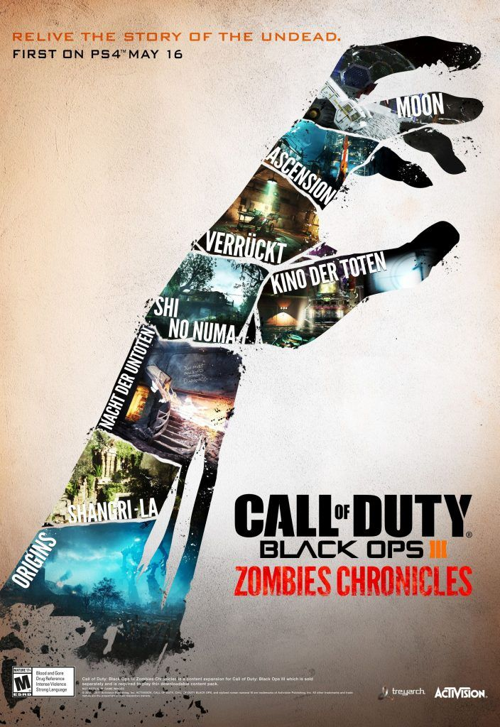 Call of Duty Black Ops III: Zombie Chronicles' Price Revealed