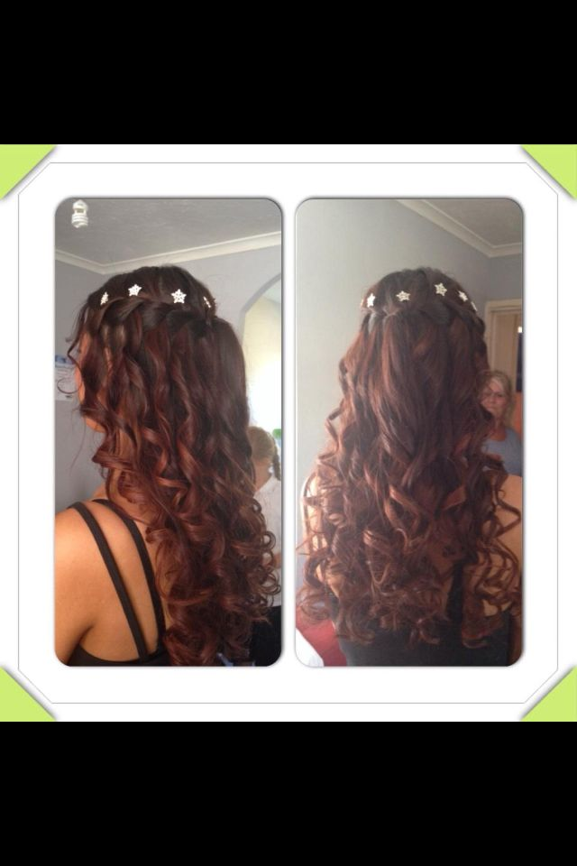 Prom/bridal/bridesmaids hair
