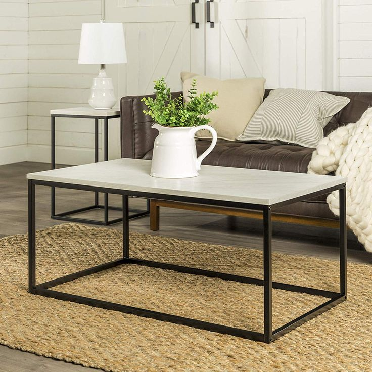Mermer Orta Sehpa Ottoman In Living Room Accent Tables Accents - Are Ottoman Coffee Tables Still In Style