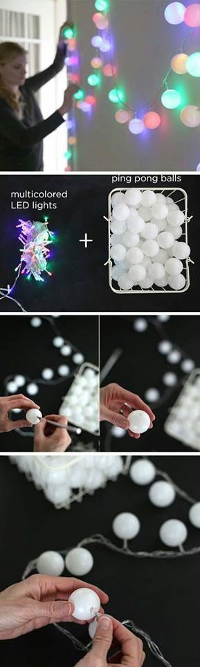 Ball-Lichterkette