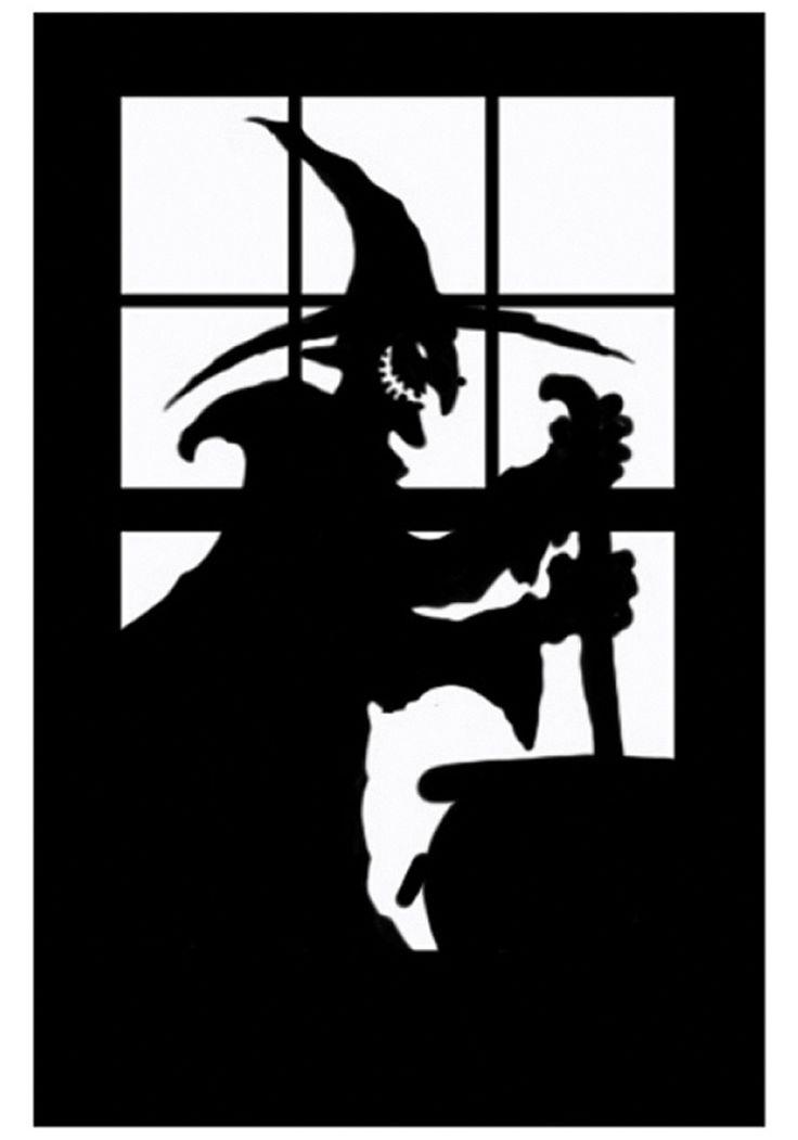Make Window Silhouettes Halloween HD Photos Gallery