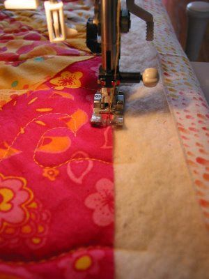 squaring up a quilt - tutorial