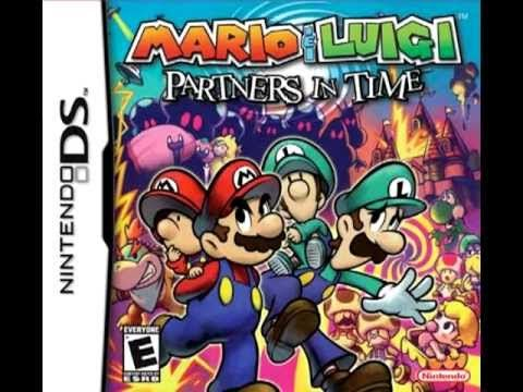 Kannon S Thwomps Bolts Fusion Remix Mario And Luigi Nintendo Ds Mario Ds Games