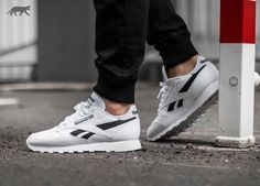 Reebok Classic Leather Pop (White / Black) | asphaltgold