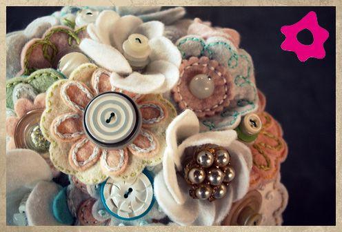 Bouquet de Noiva Vintage Heirloom