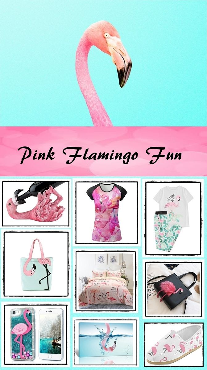 Pink Flamingo Fun Facts and Merchandise. Why we love Pink Flamingos. #pinkflamingo #flamingo #pink