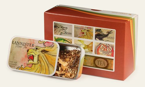 Adagio Teas: Fandoms Sampler Sets