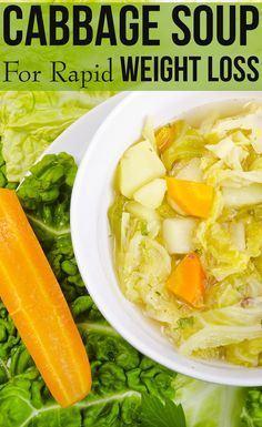 Cabbage Soup Diet For Rapid Weight Loss//In need of a detox? 10% off using our discount code 'Pin10' at www.ThinTea.com.au