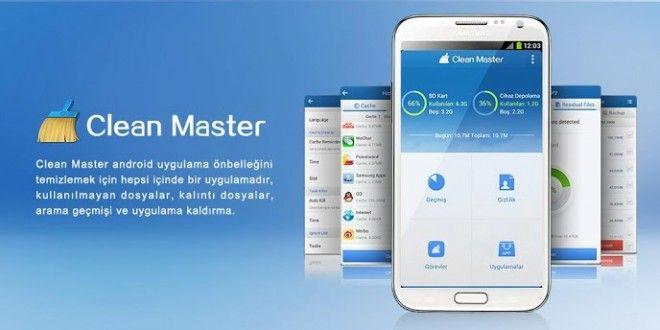 Android Telefonlarda Clean Master Hızlandırma Programı | Zaman Teknoloji