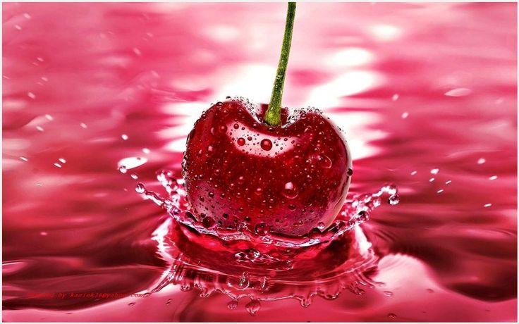 Red Cherry Fruit Splash HD Wallpaper | red cherry fruit splash hd wallpaper 1080p, red cherry fruit splash hd wallpaper desktop, red cherry fruit splash hd wallpaper hd, red cherry fruit splash hd wallpaper iphone