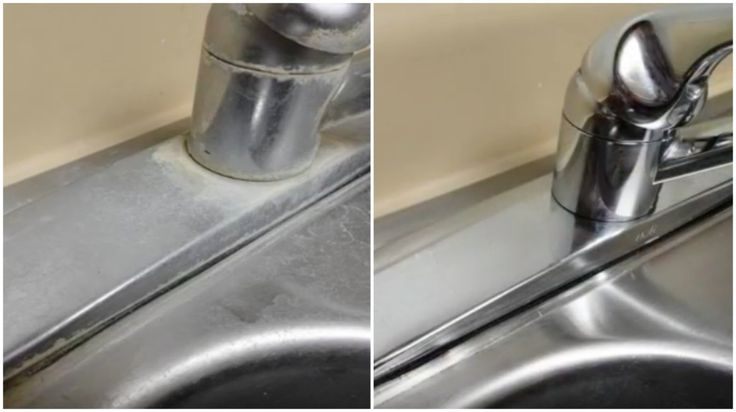 If hard water stains are ruining the look of your kitchen sink, then you'll want to be in on this home remedy trick discovered by Crouton Crackerjacks. With the help of just 1 ingredient, you'll be able to bring your dingy, grungy sinks back to their...