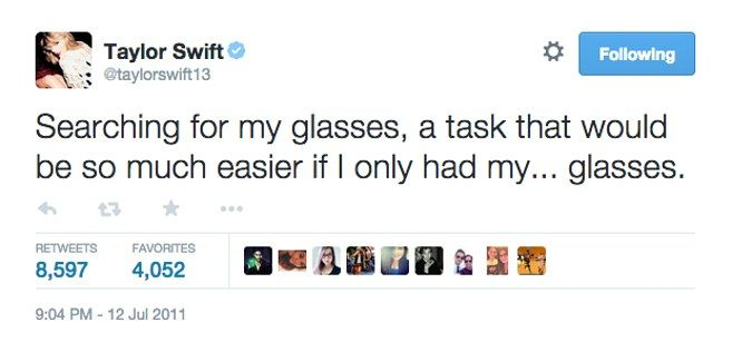 21 Taylor Swift Tweets That Prove She's Always Said What You Were Thinking