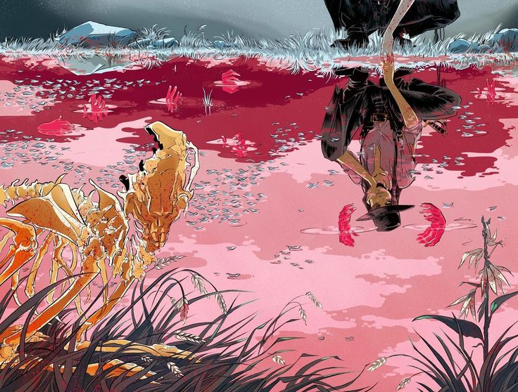 Cool Art: 'Pretty Deadly' Cover Art Prints by Emma Rios VIA