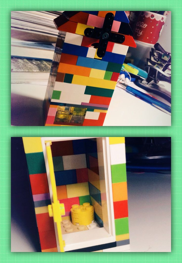 LEGO windmill -simple to make but very beautiful