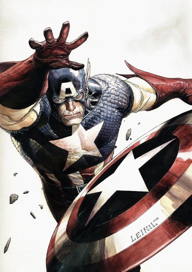 Captain America by Leinil Francis Yu