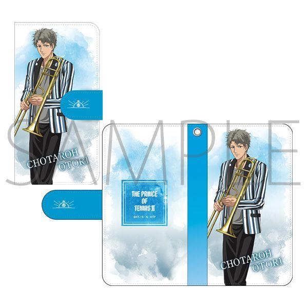 ムービック新テニスの王子様 手帳型スマートフォンケー…
