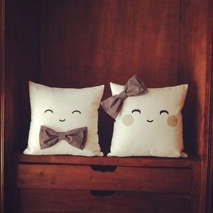 Almohadones tiernos #cute #deco #facil #diy