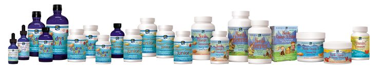 Our Children's products are packed with omega-3 goodness!