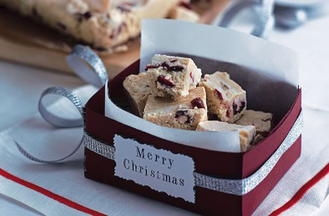 White Chocolate and Cranberry Fudge - Tesco Real Food - Tesco Real Food