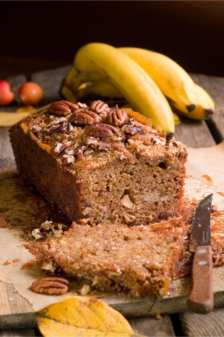 Unser Bananenbrot ohne Zucker ist gesund, vegan und saftig. Hier findest du das …