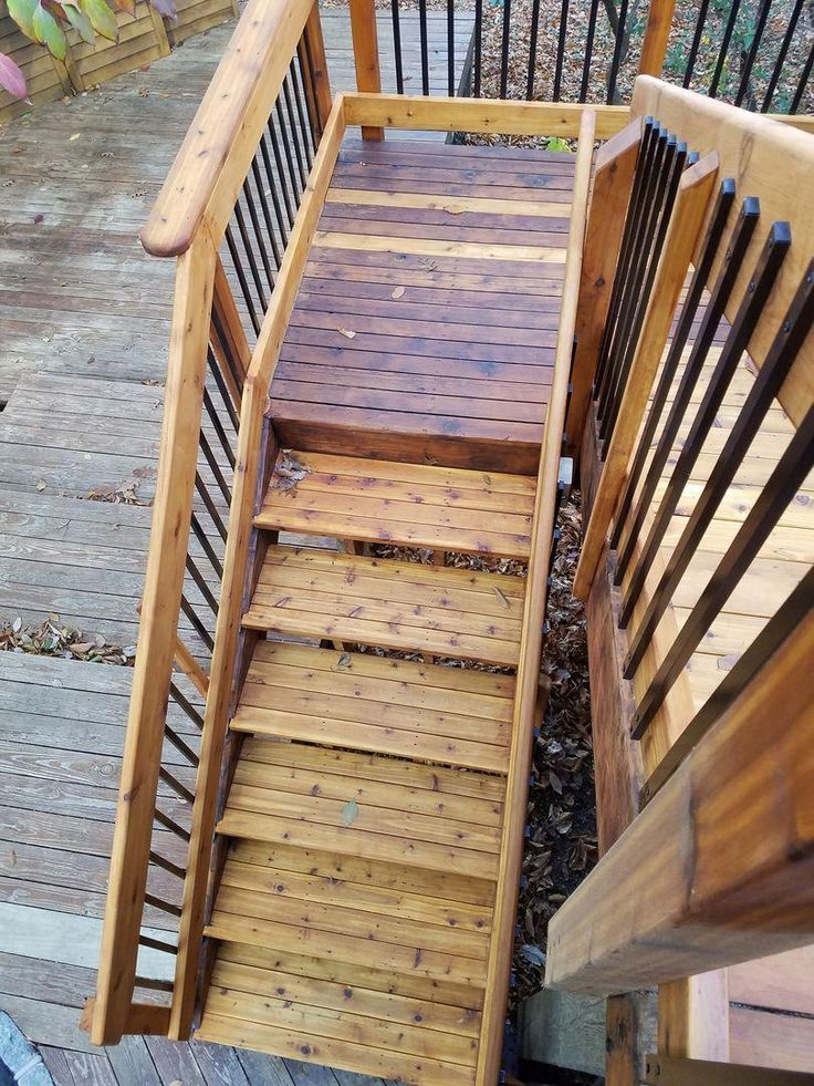 Deckorators Traditional Face Mount Balusters attach to the ...