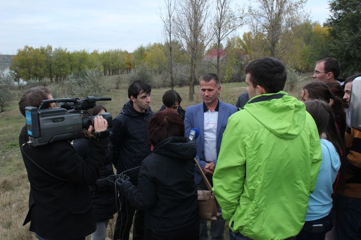 Interview with the Mayor of Comrat during the Finals of the MEGA Impact 2015 Championship.