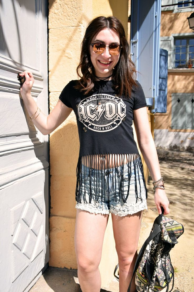 Coachella tenue, Coachella outfit, outfit, ootd, tenue festival, festival outfit, acdc, Music, rock