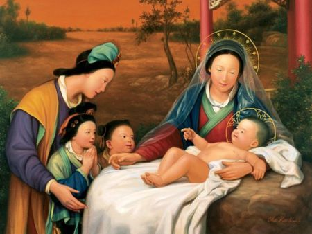 Chinese Christian Nativity