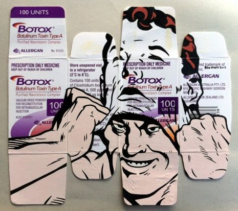 Porny, provocative pop-art mashed up with pharmaceutical packages | Dangerous Minds