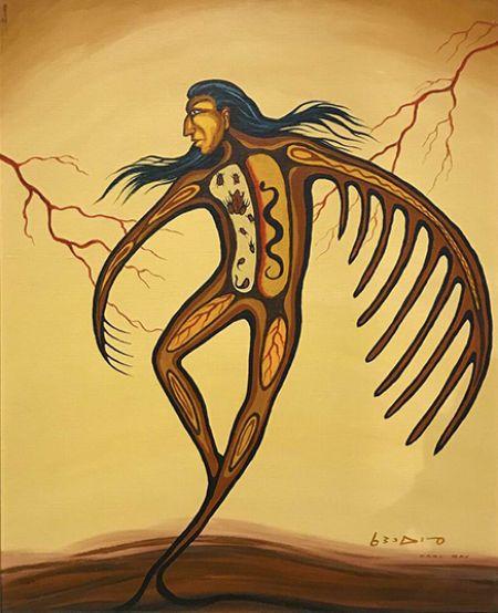 Carl Ray Thunder Man kp