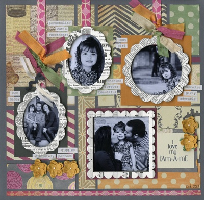 Bazill Basics Paper - sturdy chipboard frames covered in Bazzill's popular Antique Paper.
