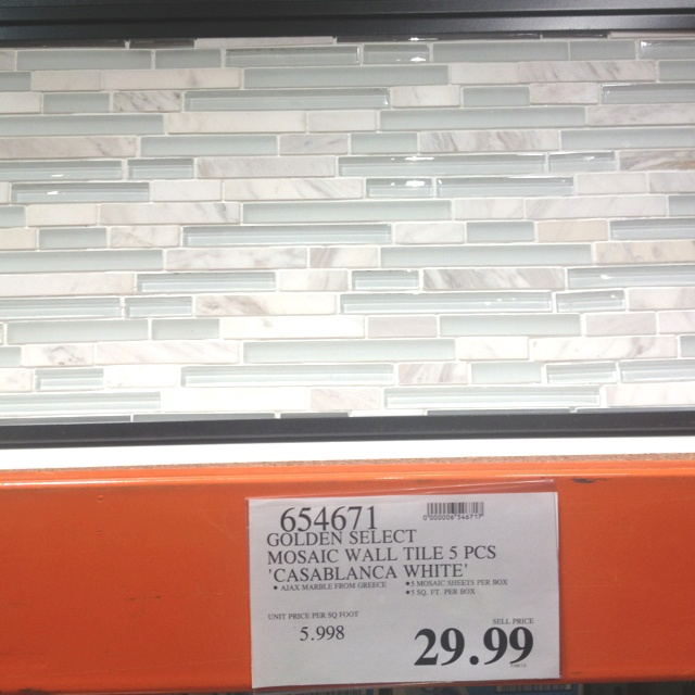 Tile At Costco For Kitchen Backsplash Kitchen