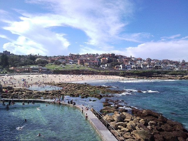 Sydney by the sea.  Bondi Pools. I love this place more than words